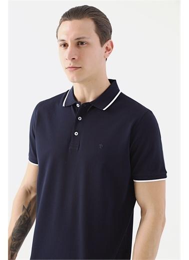 Damat 60/2 Merserize T-Shirt Lacivert
